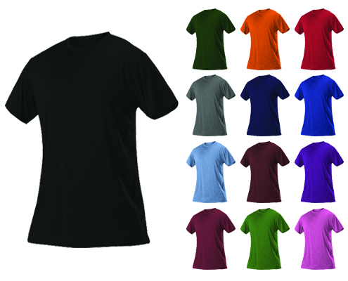 Alleson Women's Heather Tech Short Sleeve Tshirt