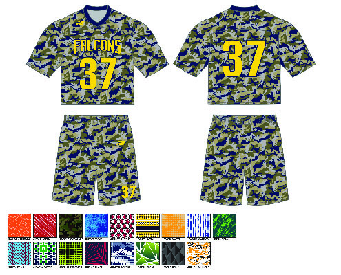 New Balance All-Over Sublimated Uniform