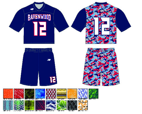 New Balance Back-Only Sublimated Uniform