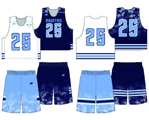 New Balance Conquer Sublimated Reversible Uniform