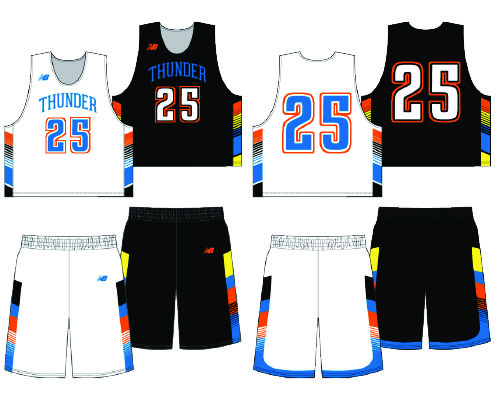 New Balance Cookie Sublimated Reversible Uniform