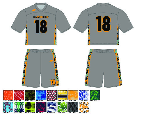 New Balance Inserts Sublimated Uniform