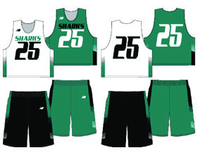 New Balance Phantom Sublimated Reversible Uniform