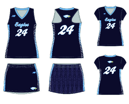 5d57ae83c New Balance Women s Cage Sublimated Uniform from Wave One Sports