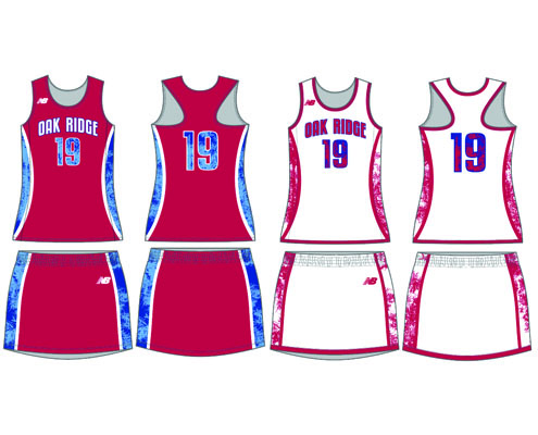 New Balance Women's Sublimated Trakker Reversible Uniform