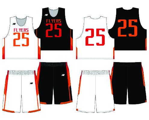 New Balance Yoke Sublimated Reversible Uniform