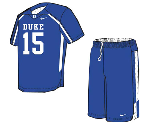 Nike Face-Off Digital Short Sleeved Game Jersey and Shorts