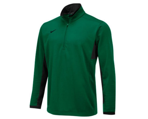 Nike Textured Dri-Fit Half Zip Top