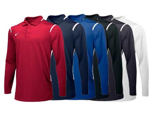 Nike Long Sleeve Gameday Polo