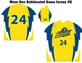 Wave One Sublimated Game Jersey #2