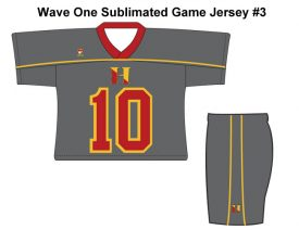 Wave One Sublimated Game Jersey #3