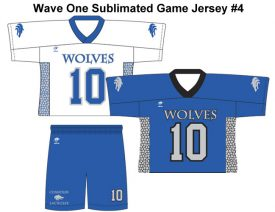 Wave One Sublimated Game Jersey #4