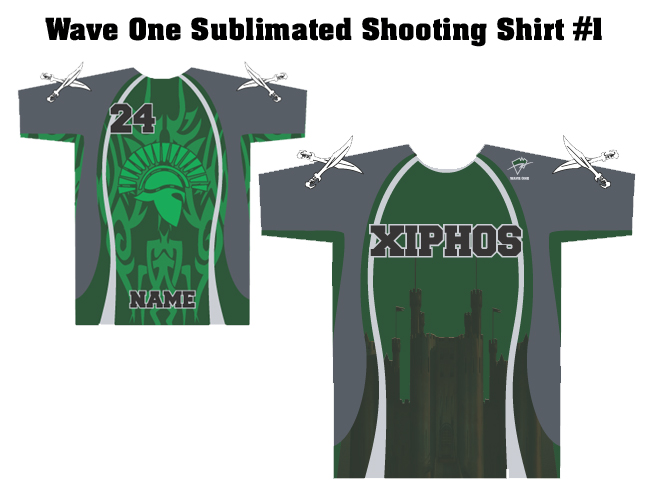 Wave One Sublimated Shooting Shirts