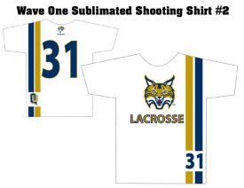 Wave One Sublimated Shooting Shirt #2