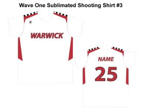 Wave One Sublimated Shooting Shirt #3
