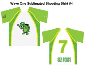 Wave One Sublimated Shooting Shirt #4