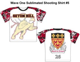 Wave One Sublimated Shooting Shirt #5