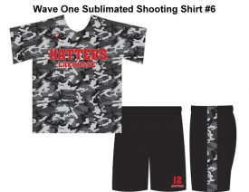 Wave One Sublimated Shooting Shirt #6