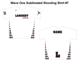 Wave One Sublimated Shooting Shirt #7