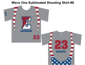 Wave One Sublimated Shooting Shirt #8