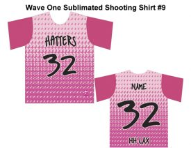 Wave One Sublimated Shooting Shirt #9