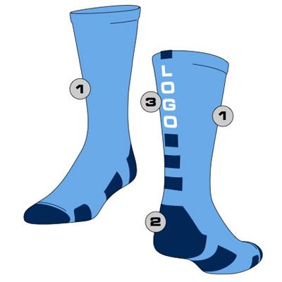 Baseline Custom Crew Sock