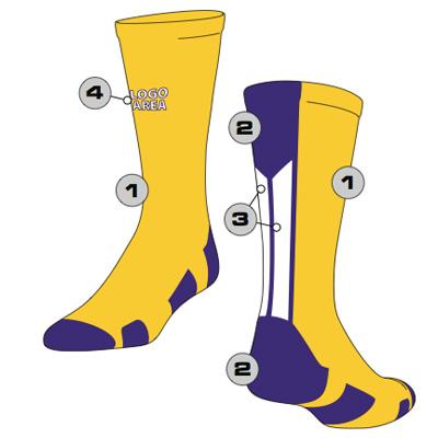 Razor Custom Crew Sock