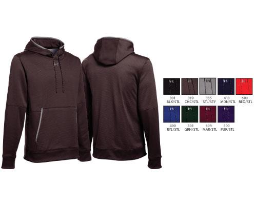 UA Armour Fleece Textured Hoody