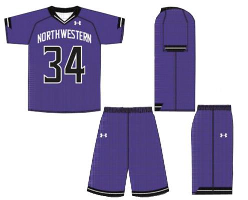 UA Armourfuse Custom Montauk Lacrosse Uniform