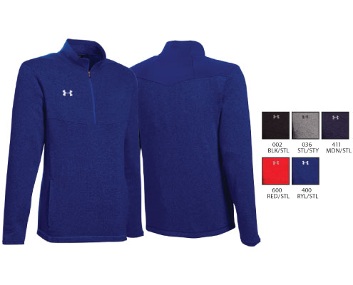 UA Elite Fleece 1/4 Zip
