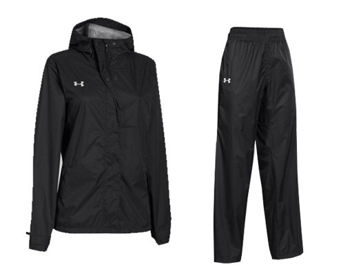 Under Armour Women's ACE Rain Jacket and Pant