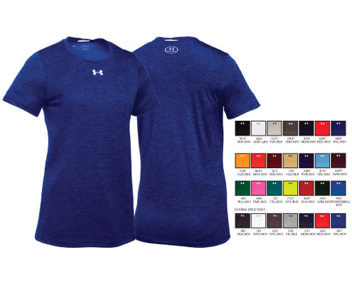 Under Armour Women's Locker T Shortsleeve