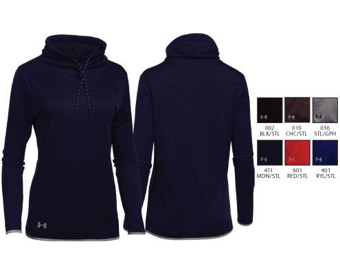 UA Women's Novelty Armour Fleece Funnel Neck