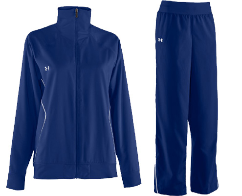 Under Armour Women's Pregame Woven Jacket & Pant