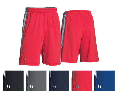 UA Team Raid Colorblock Short