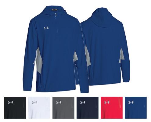 UA Squad Woven ¼ Zip