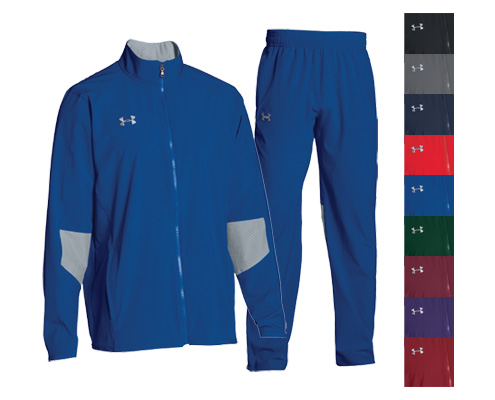 UA Squad Woven Warm-Up Jacket And Pant