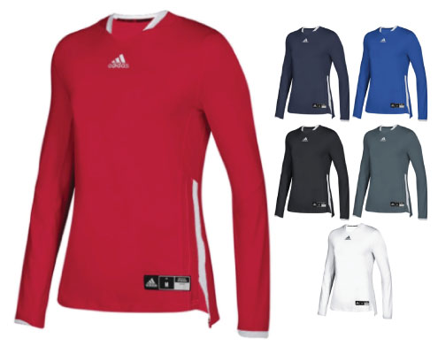 Adidas Women's Blue Chip Long Sleeve Jersey