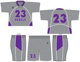 Wave One Men's NFHS Legal Sublimated Uniform #5
