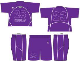 Wave One Men's NFHS Legal Sublimated Uniform #6