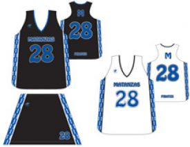 Wave One Women's Sublimated NFHS Full Cut Racerback Uniform #3