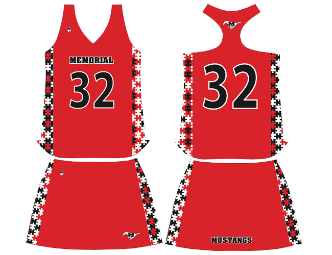 Wave One Womens Sublimated NFHS Legal Racerback Jerseys