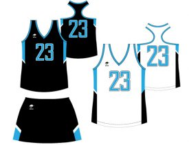 Wave One Women's NFHS Sublimated Uniform #6