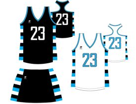 Wave One Women's NFHS Sublimated Uniform #7