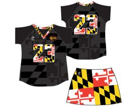 style Wave One Women's Sublimated Uniform #7