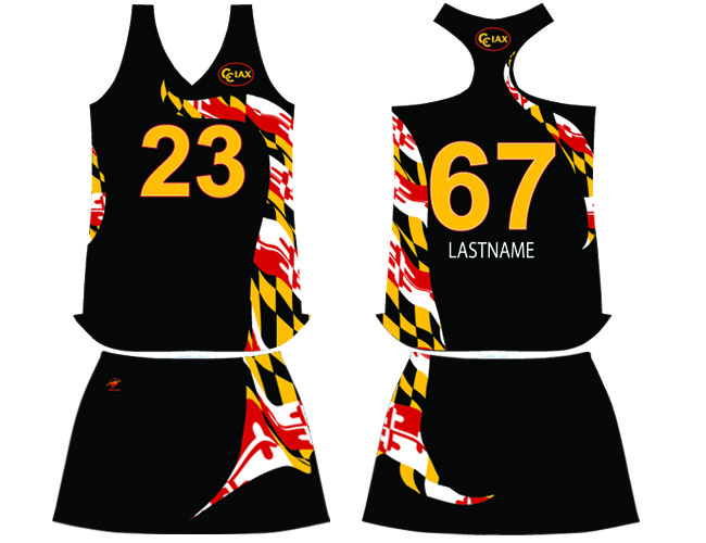 Wave One Womens Sublimated Racerback Jerseys