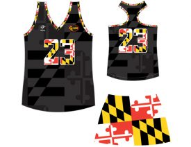 Wave One Women's Sublimated Uniform #10