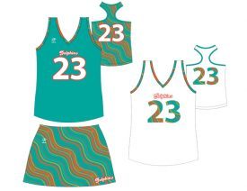 Wave One Women's Sublimated Uniform #13