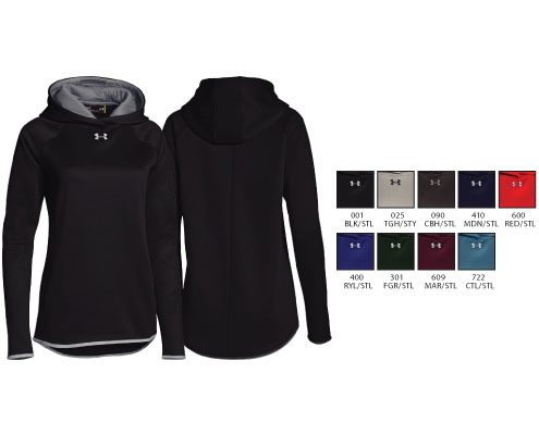 UA Women's Double Threat Armour Fleece Hoody