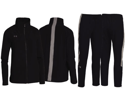 UA Women's Squad Woven Warm-Up Jacket and Pant